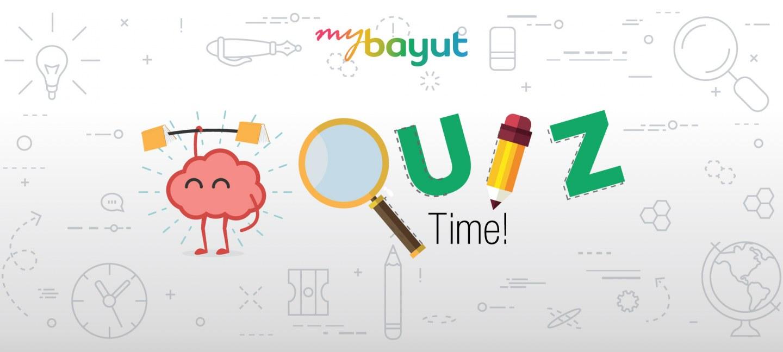 Take a custom made bayut quiz
