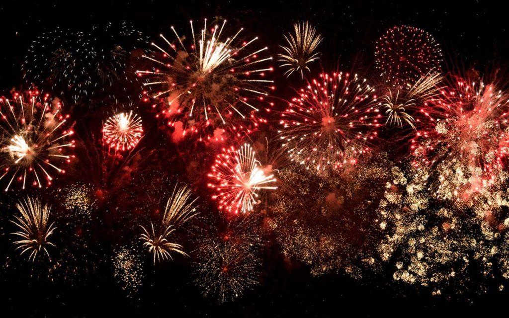 Dubai new year fireworks 2020