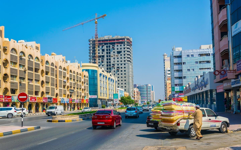 عجمان منطقة سكنية هاذئة وقريبة من إمارة دبي والشارقة