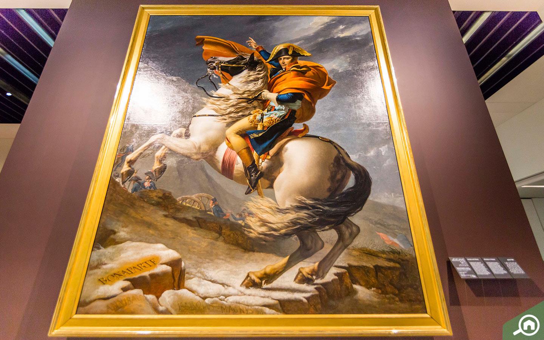 Napoleon Bonaparte - Louvre Abu Dhabi Paintings