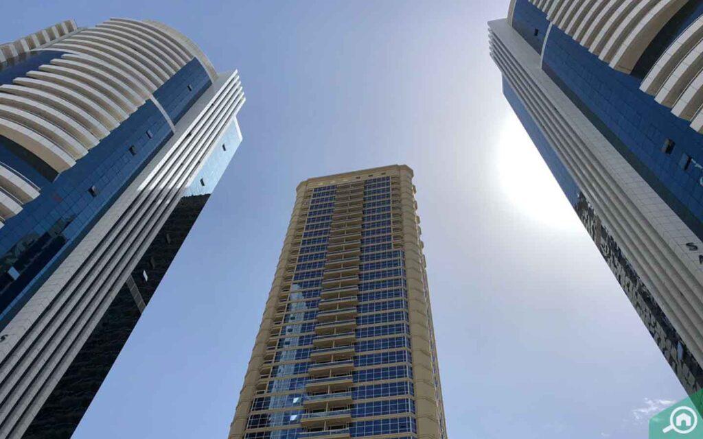 New Dubai Gate towers in Dubai