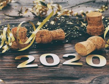 New Year's Eve 2020 concept