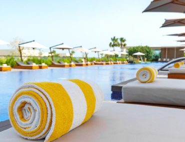 Hotel swimming pool in Ajman