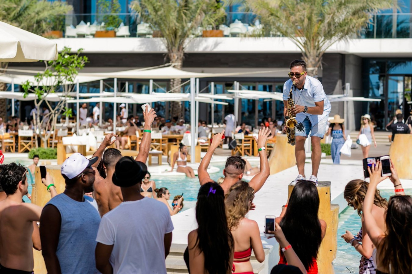A Party At Nikki Beach Image Courtesy Best Clubs In Dubai