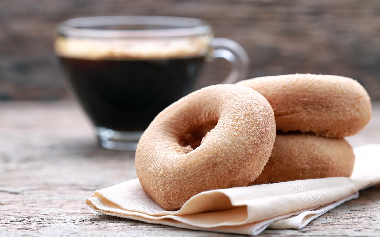 قهوة ودونت