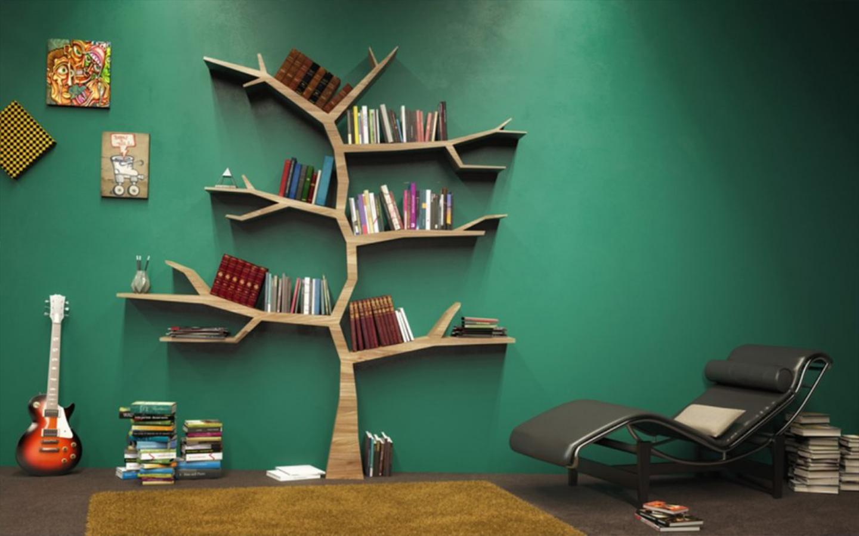 رف كتب شجرة المعرفة