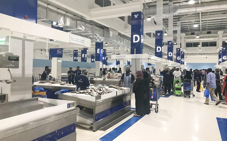 سوق السمك دبي