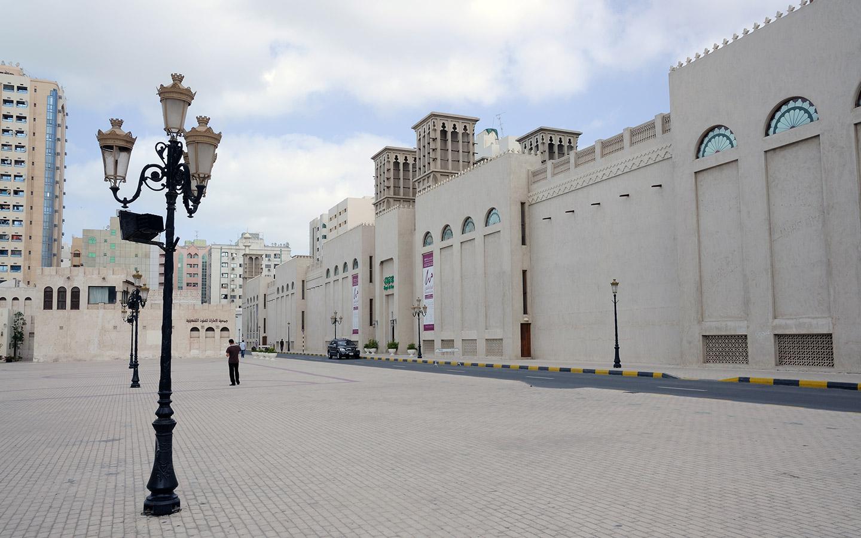 متحف الشارقة للفنون من الخارج