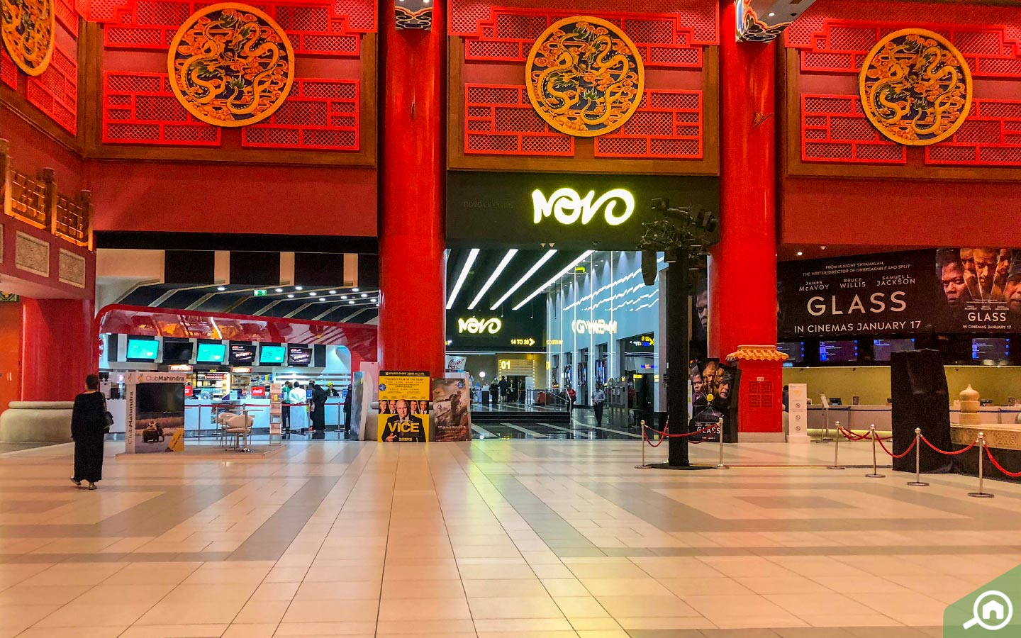 View of Novo Cinemas, one of the best things to do in Ibn Battuta Mall