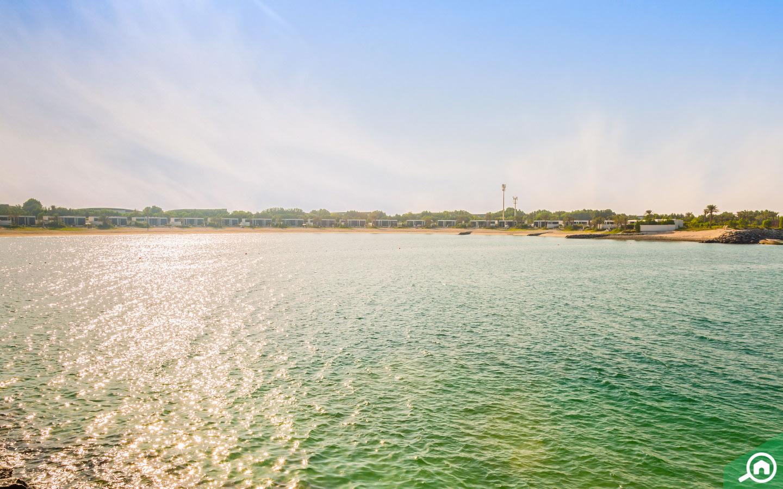 View of Nurai Island Lagoon