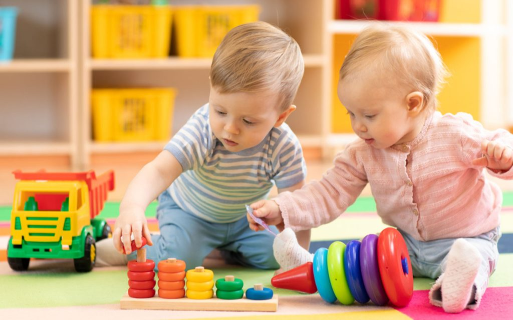 Nurseries offer a nurturing environment where kids can learn to socialize with each other