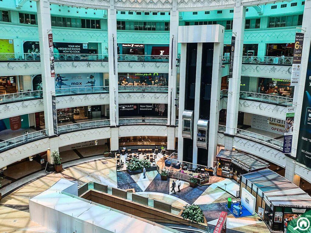 Inside of Oasis Mall Dubai