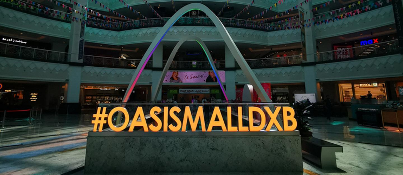 Inside Oasis Mall Dubai
