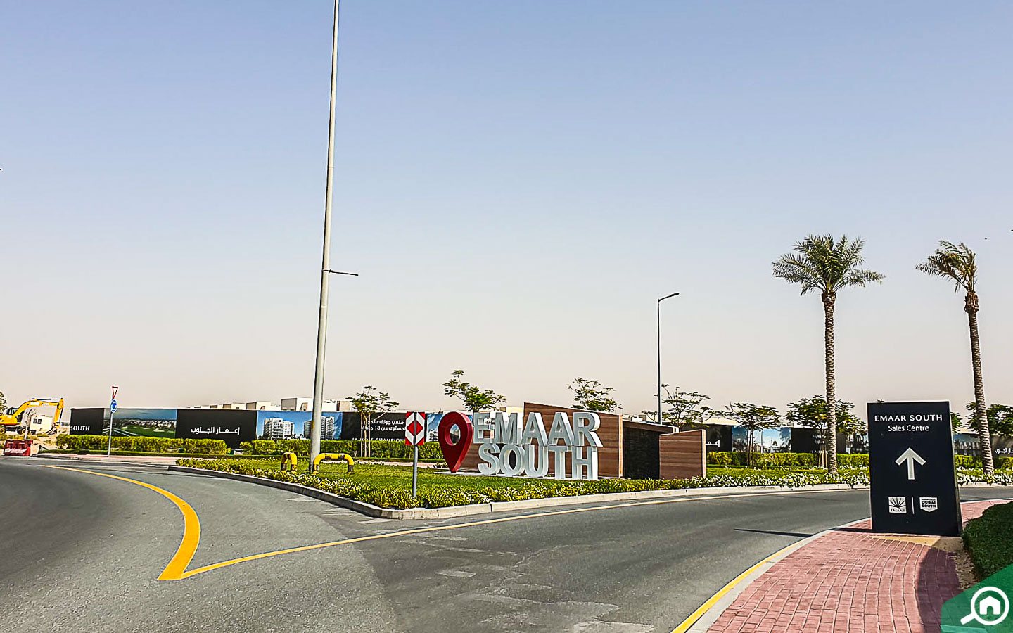 Emaar South entrance, one of the Dubai residential areas near the Expo 2020 site