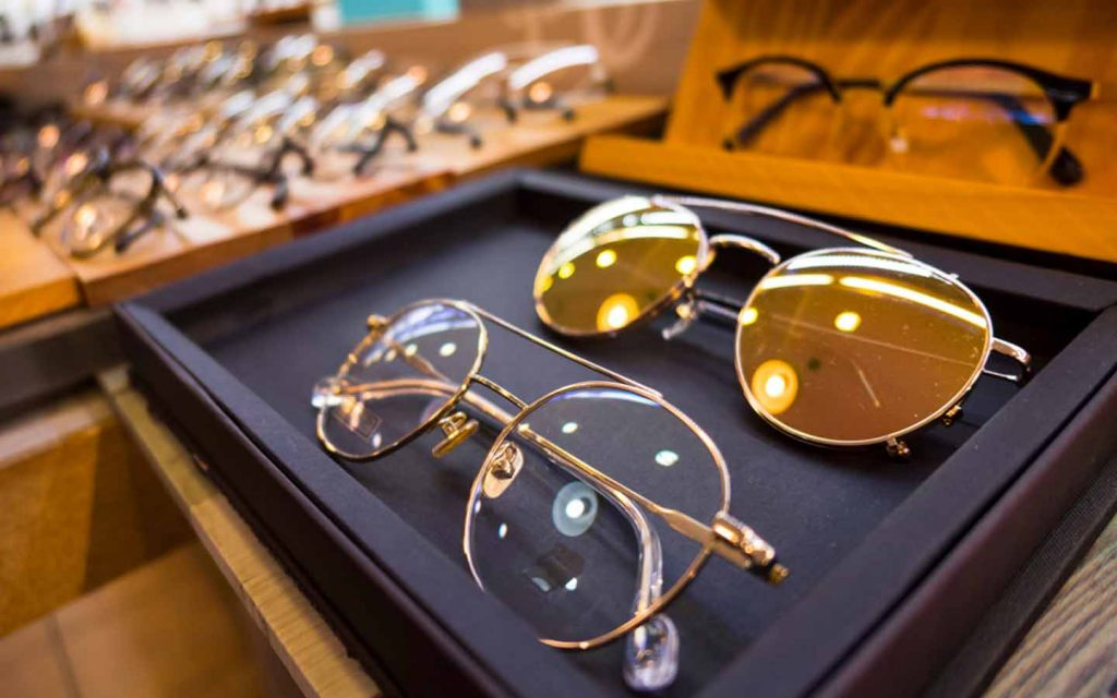 You can pick from many high street glasses brands at Abu Dhabi optic shops