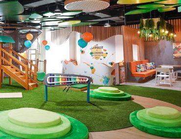 Orange Wheels play area Dubai