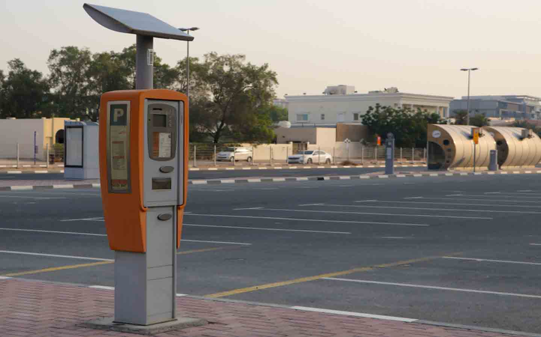 Paid Parking Metre in Dubai - Parking rates in Dubai