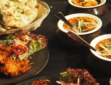 Food served in one of the Pakistani restaurants in Abu Dhabi