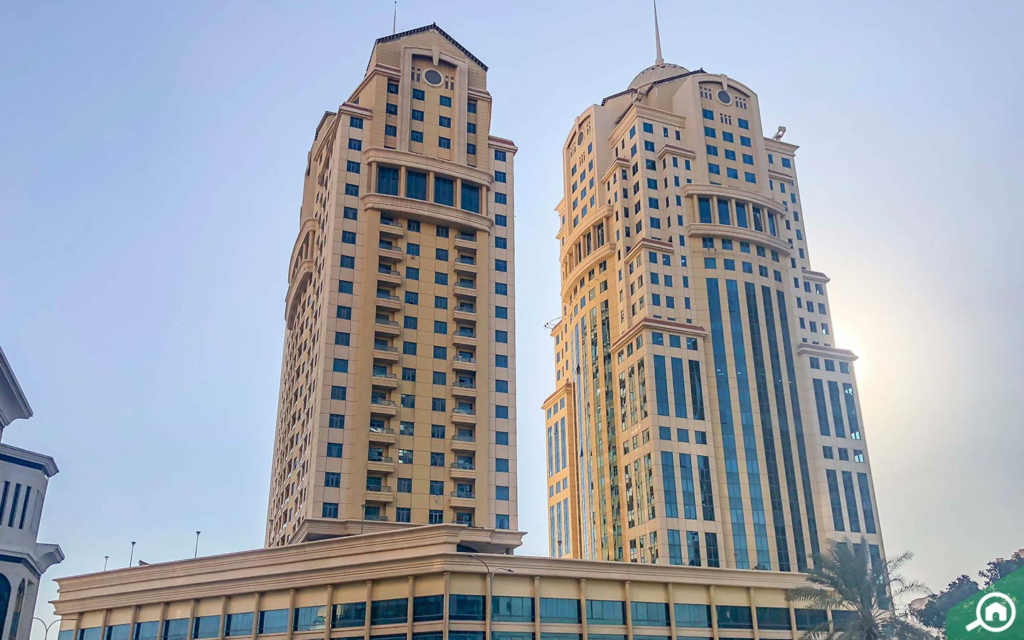 Palace Towers buildings to buy apartments in Dubai Silicon Oasis
