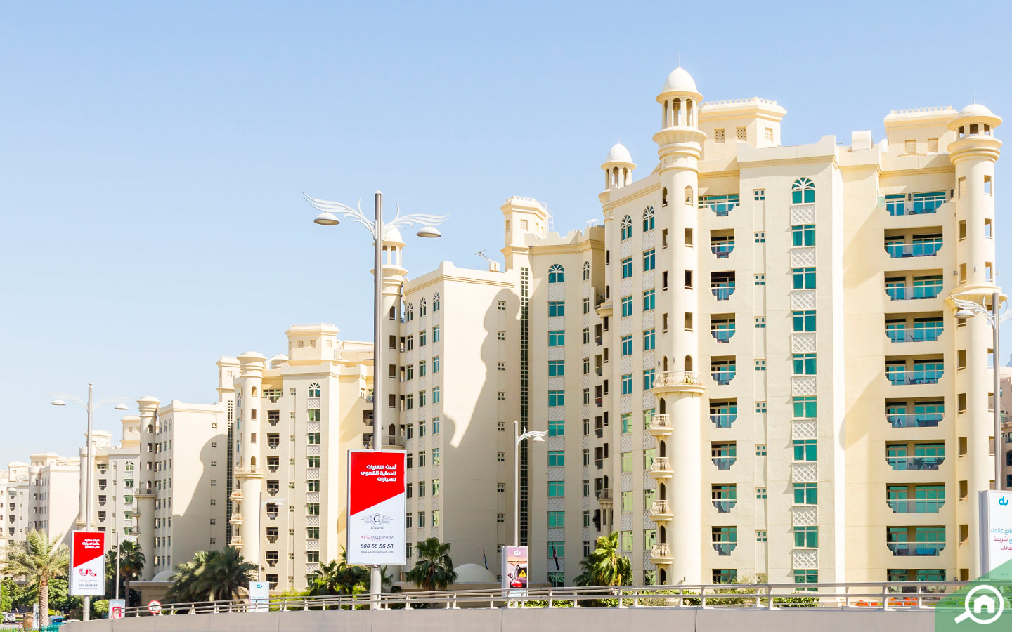 Luxury apartments in Palm Jumeirah