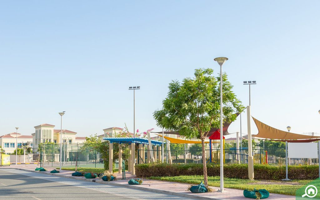 A park for kids at Jumeirah Village Triangle
