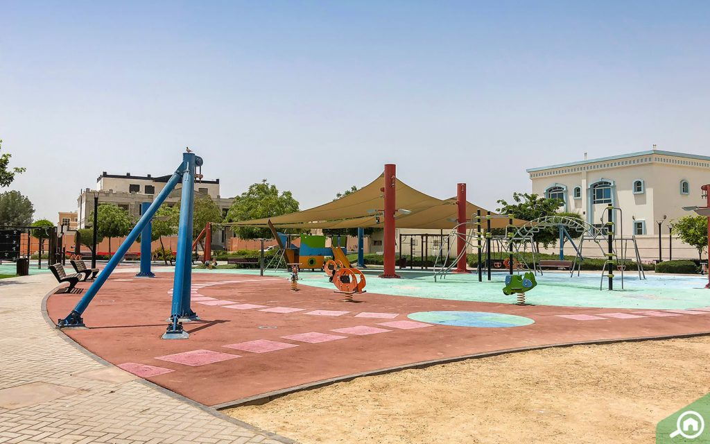 play area in Khalifa City A