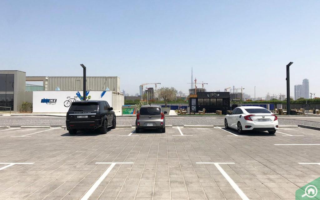 Nad Al Sheba parking area