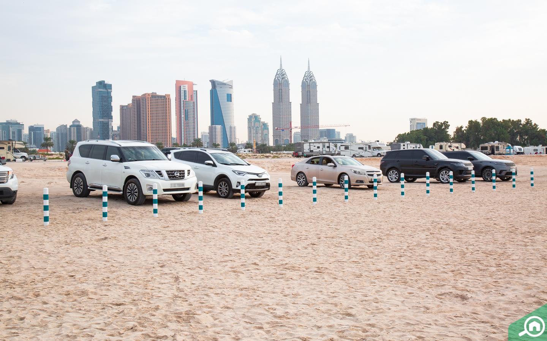 مواقف سيارات في شاطئ الصفوح