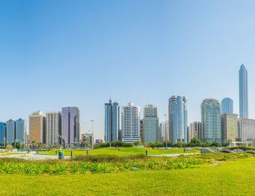 حديقة في أبوظبي