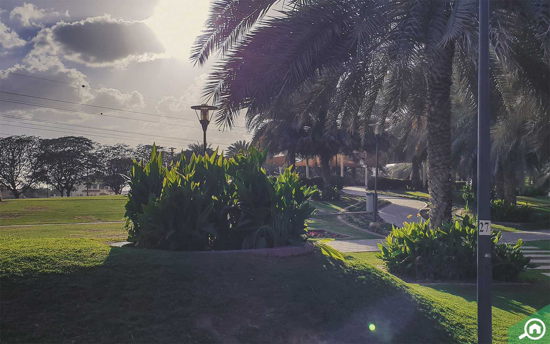 a park in Al Qusais