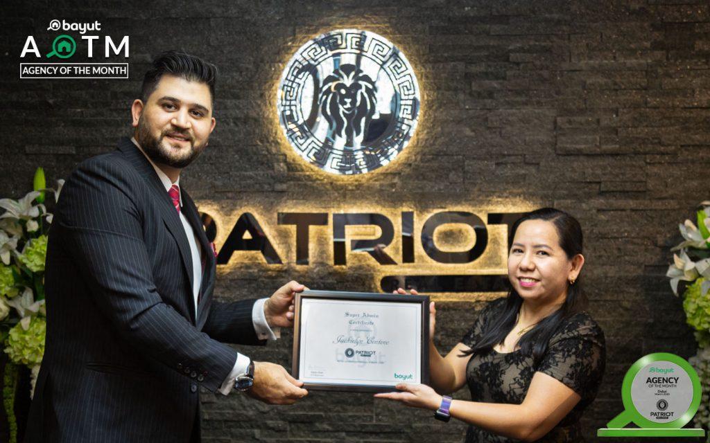 Jackielyn Centeno, General Admin at Patriot
