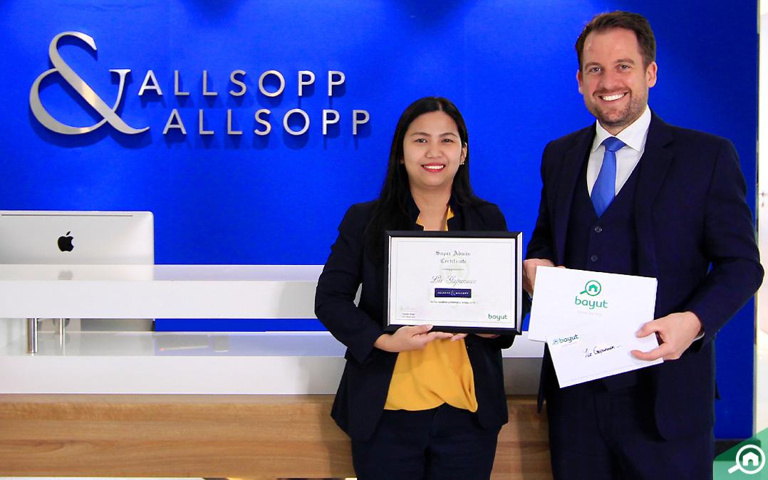 Liz Gapunuan, Head of Administration at Allsopp & Allsopp