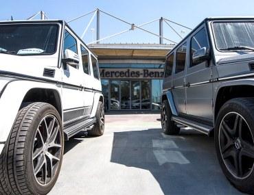 سوق السيارات المستعملة في دبي