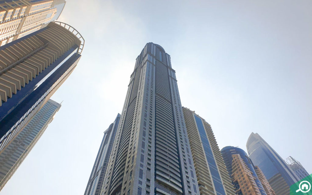 Princess Tower in Dubai