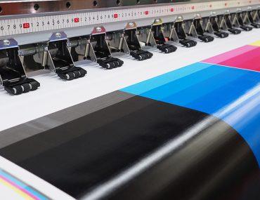 مطبعة ملونة
