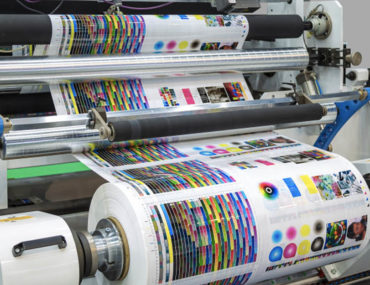 A printing press in Abu Dhabi