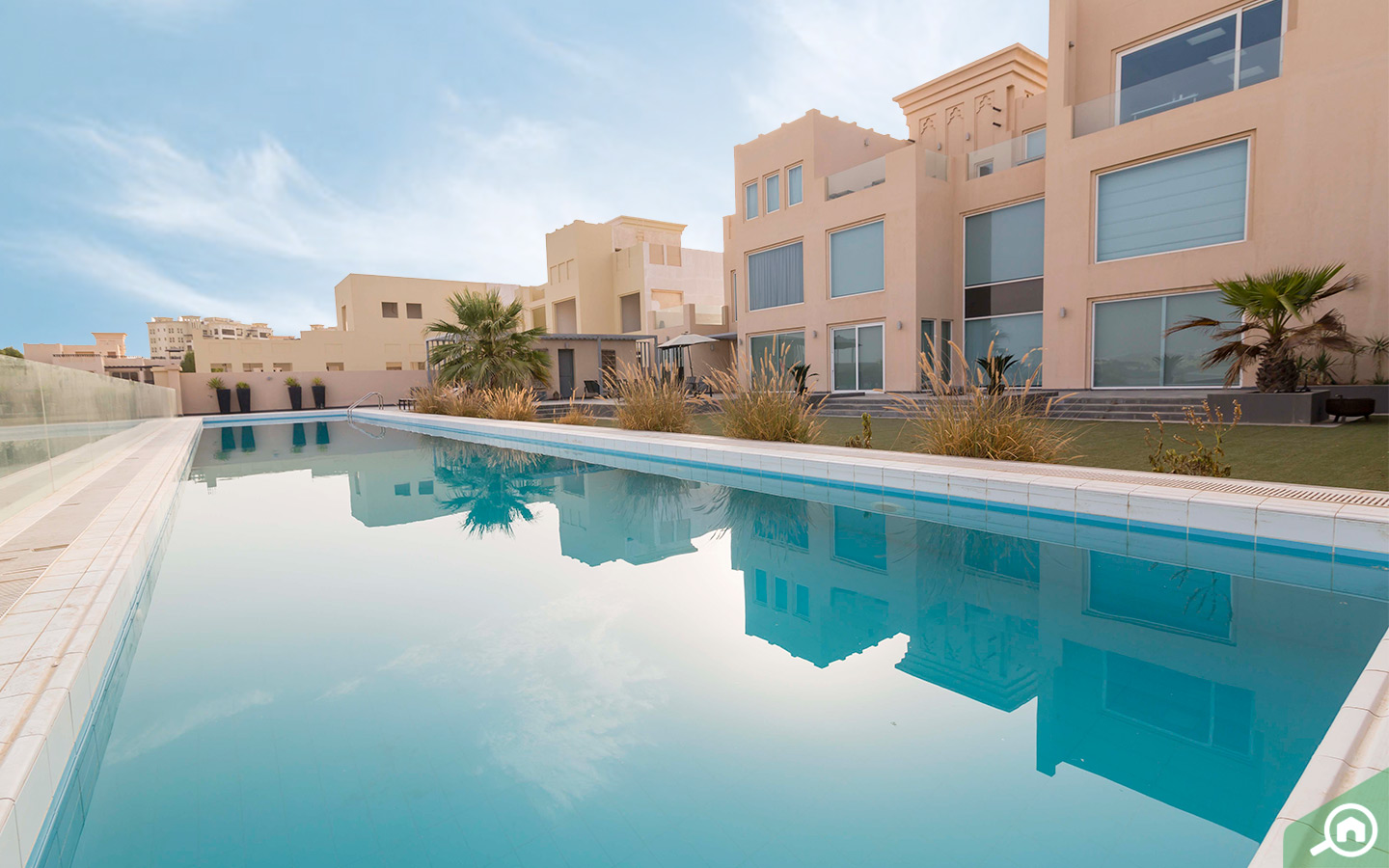 Private pool in RAK Villa