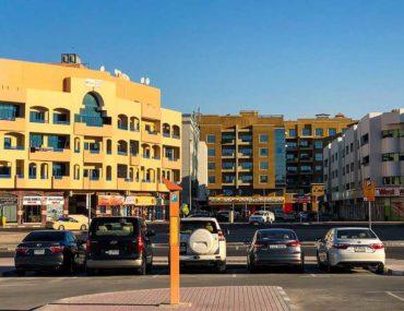 Street in Deira in Dubai