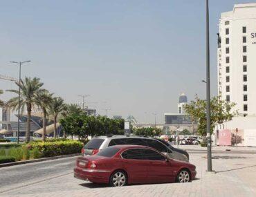 A view of the Al Jaddaf Community, Suha Apartments Al Sh