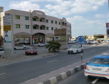 A taxi part of the public transport in RAK