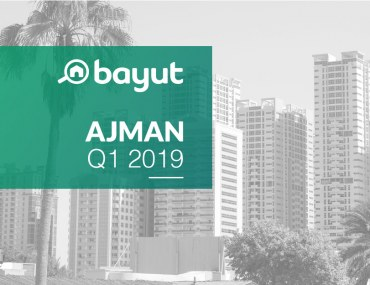 Bayut Property Prices in Ajman for Q1 2019