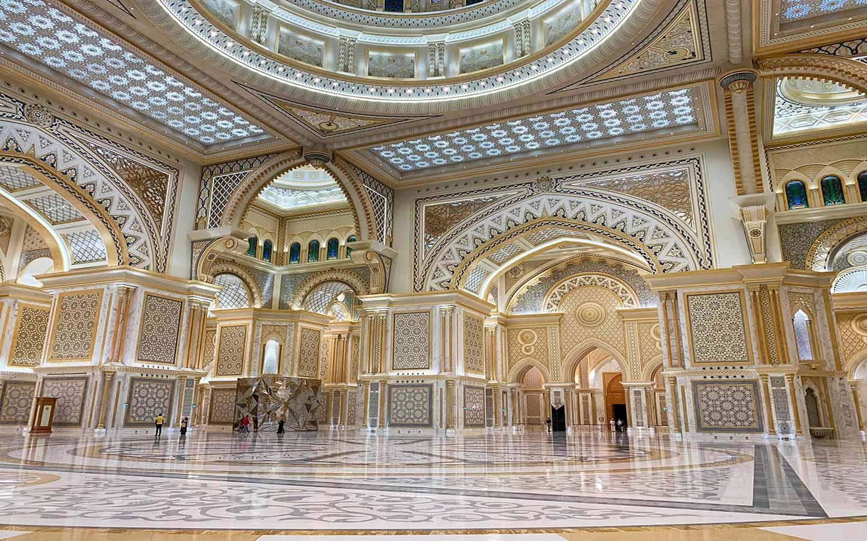 Qasr Al Watan interior