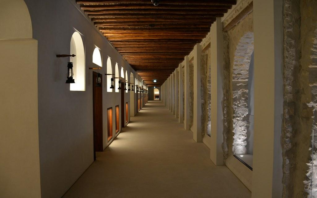 Inner view of Qasr Al Hosn Palace