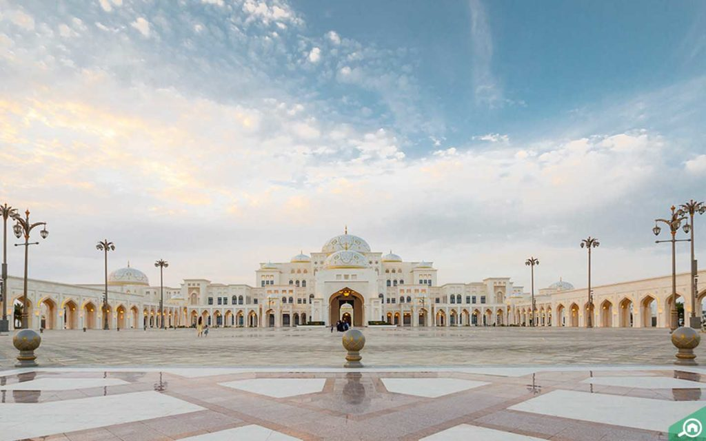 The Qasr Al Watan in Abu Dhabi
