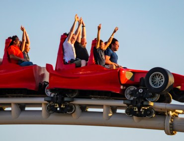 Roller Coaster in Theme Parks in Dubai