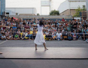 Dancers at Quoz Arts Fest 2020 in Dubai
