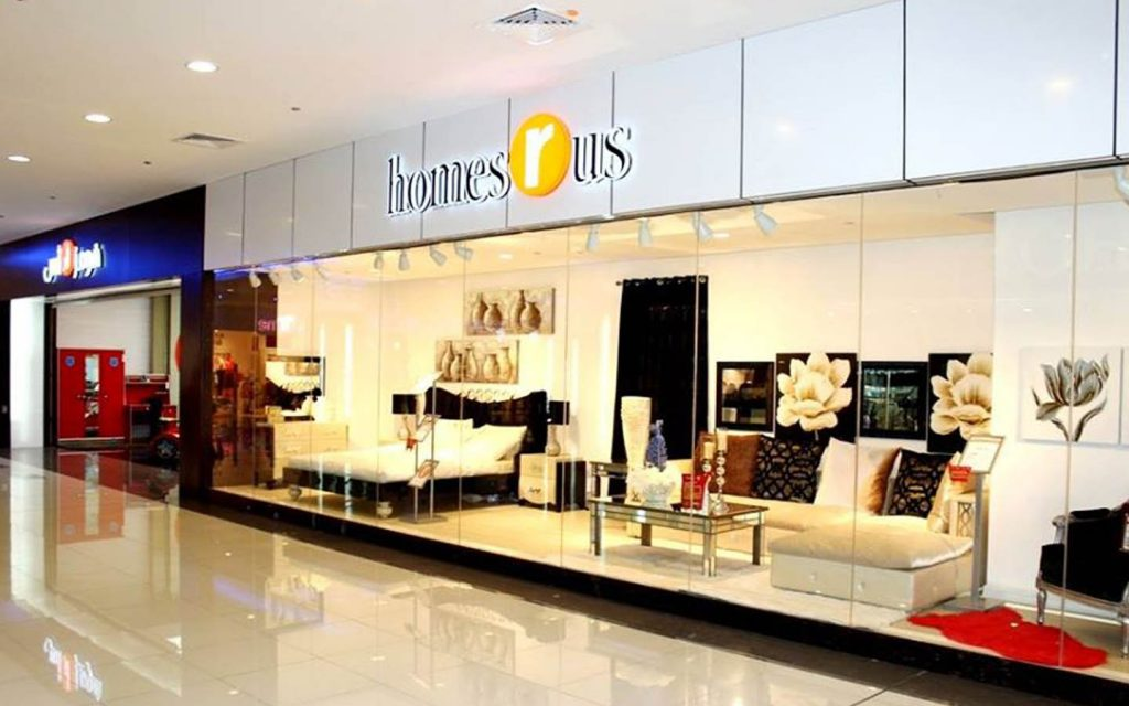 Homes r Us shop in RAK Mall