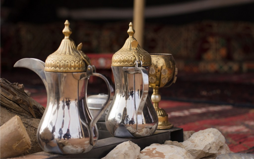 Ramadan drinks served during iftar in Dubai