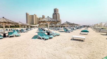 Al Hamra Beach in RAK