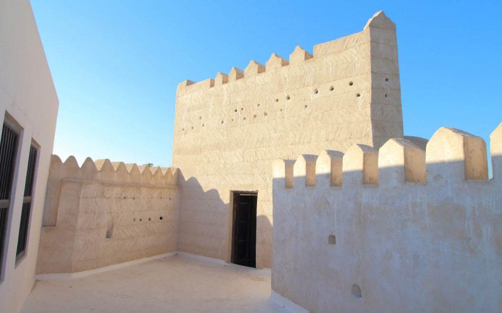 The fort of Ras Al Khaimah National Museum